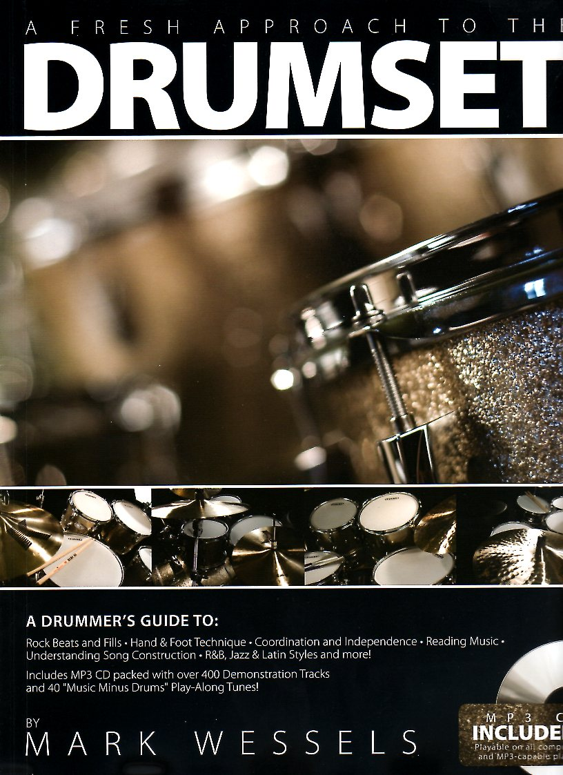 A Fresh Approach to the Drumset + CD - Percussion Books