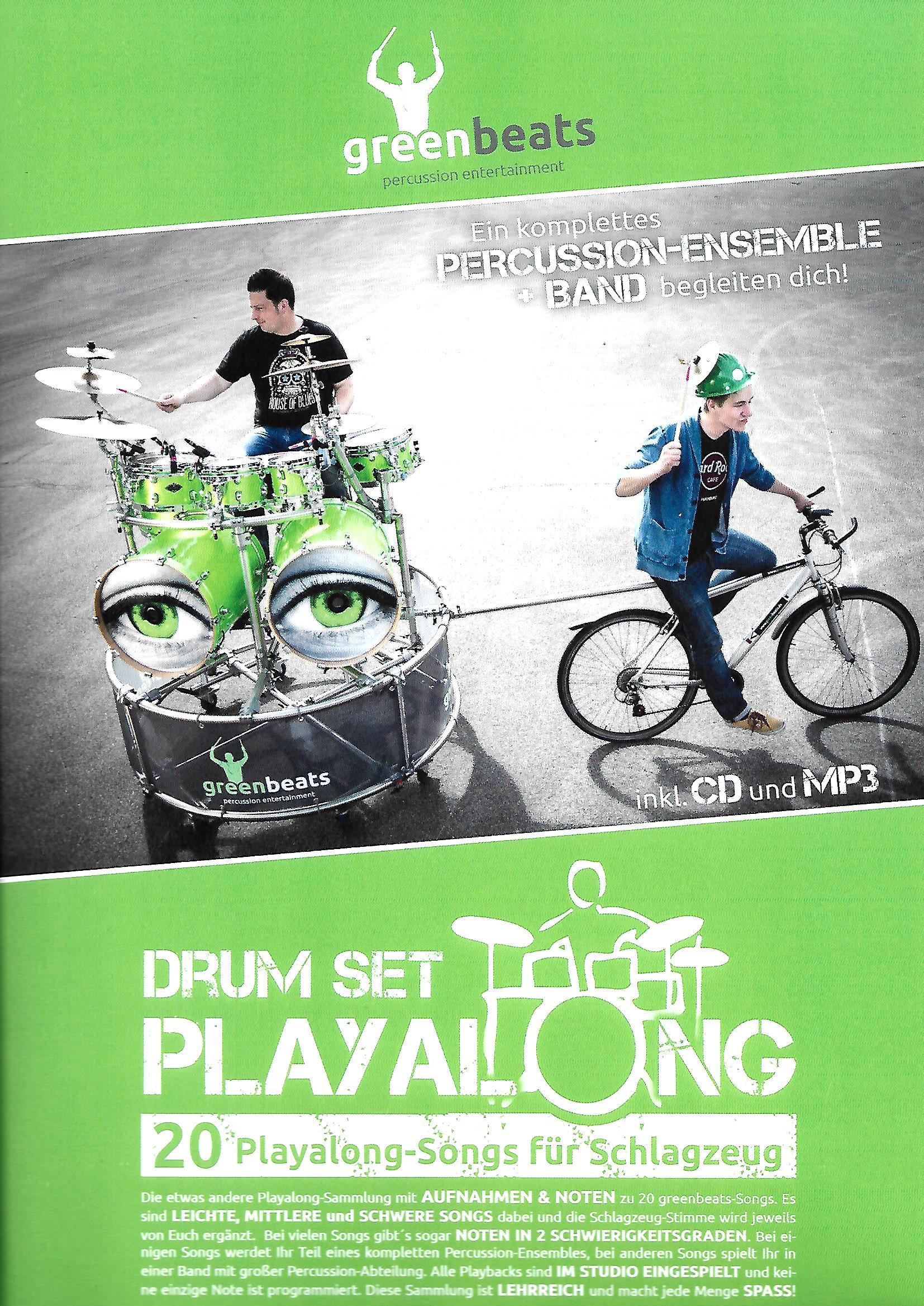 Greenbeats Drumset Play Along - Percussion Books