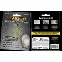 Ahead Custom Molded Earplugs (gehoorbescherming)