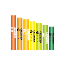 BOOMWHACKERS treble extension, set of 7